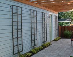 metal wall trellis ideas to wall decorations