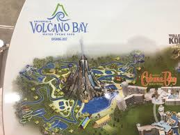 Universal Map Volcano Bay Construction Update Volcano Rises Higher U2013 Plus Wave