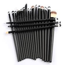 pro makeup 20pcs brushes set powder foundation eyeshadow eyeliner