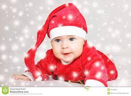 santa claus costume for toddlers baby santa claus stock image image 34788431