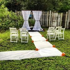 Small Backyard Wedding Ceremony Ideas Small Backyard Wedding Gardening Design