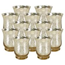 Home Decor Parties Mercury Glass Votive Tealight Candle Holders For Weddings Home