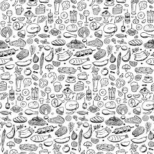 set hand drawn food and drink stock vector art 512623376 istock
