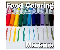 where to buy edible markers food coloring markers 5 steps with pictures