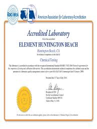 a2la iso 17025 certificates and scopes of approval nut hardware