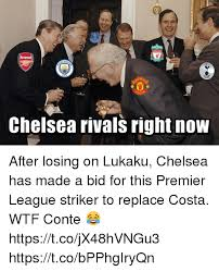 chelsea rivals right now after losing on lukaku chelsea has made a