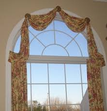 Living Room Window Treatments For Large Windows - window treatment for large windows living room with arch window