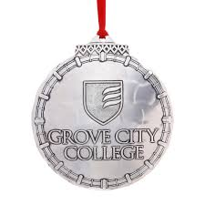 grove city college classic ornament wendell august