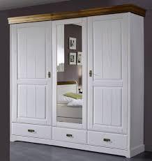 Schlafzimmer Komplett Holz Massivholz Schlafzimmer Rauna Komplett Mit Bett 200x200 Kiefer