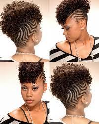 cornrowed mohawk natural hair style braids pinterest mohawks