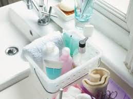 bathroom tidy ideas decluttering the bathroom hgtv