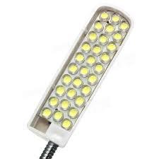 led gooseneck machine light 2w ac110 220v sewing machine 30 led gooseneck light magnetic base