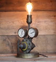 vintage welding gear lamp home decor u0026 lighting eastchester