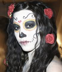 mexican halloween makeup day of the dead face paint make up entertainmentmesh