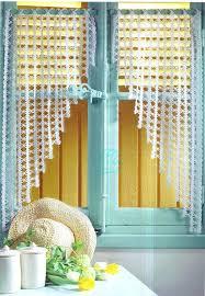 rideaux cuisine originaux rideaux cuisine originaux des au crochet rideau amanda ricciardi