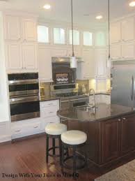 Building Upper Kitchen Cabinets How To Decorate Glass Front Cabinets Houston Interior Design