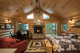 pacific northwest design meadow view log cabin western pleasure guest ranch