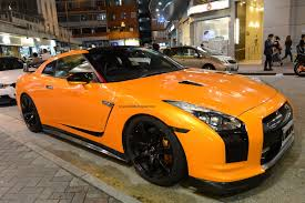 Nissan Gtr Orange - supercars of hong kong nissan gt r bright orange seen in the