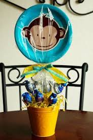 Baby Monkey Centerpieces by Monkey Birthday Centerpiece Love The Banana For Connor U0027s