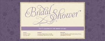 Wedding Shower Invites Bridal Shower Evite