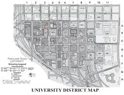 Portland Maps by Portland State College Of Liberal Arts U0026 Sciences Center For