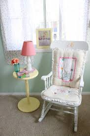 Pink Rocking Chair For Nursery Parker U0027s Sweet Vintage Nursery Project Nursery