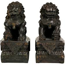images of foo dogs furniture 9 foo dogs 2 pc figurine jcpenney