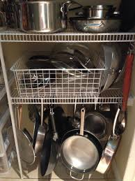 Kitchen Storage Ideas For Pots And Pans by One Hour Diy Storage Solutions U2013 Pfister Faucets Kitchen U0026 Bath