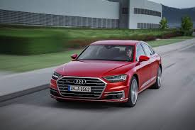 audi 2018 audi a8 debuts packed with future facing tech the drive