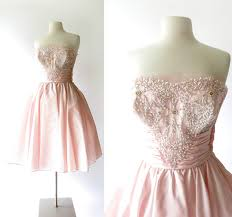 small earth vintage shop preview pink taffeta 1930s lingerie a
