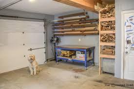 building a workshop garage building your diy workshop the created home