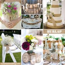 burlap wedding burlap wedding decorations jemonte