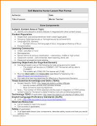 doc 612792 sample madeline hunter lesson plan template