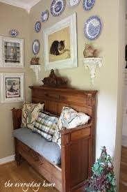 Antique Foyer Bench A Southern Home Tour At Antique Beds Foyers And Bench
