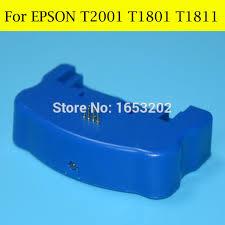 chip resetter epson xp 305 aliexpress com buy 1 pc original chip resetter for epson t1801