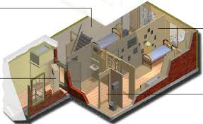 floor plan of the secret annex planning and visualizing our english class