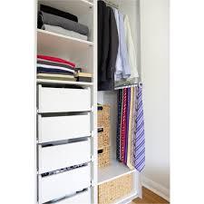 Wardrobe With Shelves by Flatpax Modern White Wardrobe Shelves Internalfittings