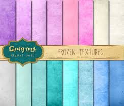 Winter Color Schemes by Frozen Textures Digital Paper Grunge Distressed Winter