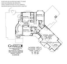 manor house plans avalon manor house plan house plans by garrell associates inc