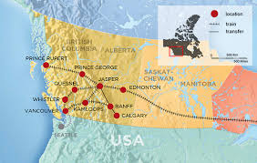 amtrak map usa amtrak to canada trips canadian vacations