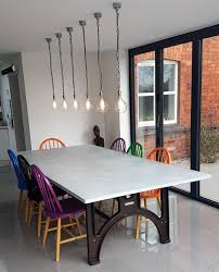 Industrial Kitchen Table Furniture Industrial Dining Room Table Provisionsdining Com