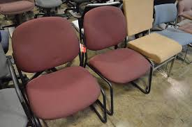 Used Office Furniture In Atlanta by Atlanta Used Office Furniture Used Armless Global Solo Guest Chairs