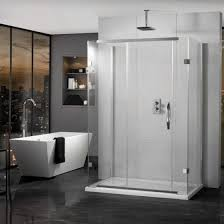 1200mm Shower Door Inline 3 Sided Sliding Shower Enclosure 1200mm X 800mm