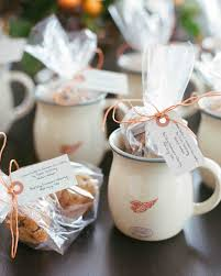 unique wedding favor ideas 32 unique ideas for winter wedding favors martha stewart weddings