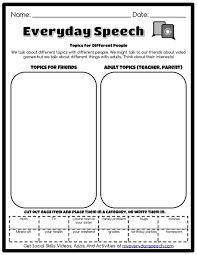 working on appropriate topics for convo skills use this free