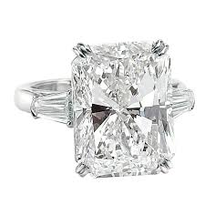radiant cut engagement ring an impressive 15 03 ct radiant cut diamond cert ring for sale