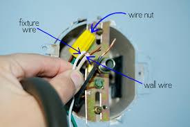 How To Connect Light Fixture Wires Tutorials Grace Gumption