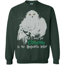 ugly christmas sweater harry potter christmas story and gift