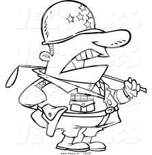 cartoon army drawings drawing sketch library