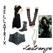 Bellatrix Halloween Costume Collier Harry Potter Bellatrix Lestrange Diy